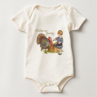 Erntedank-Grüße Baby Strampler