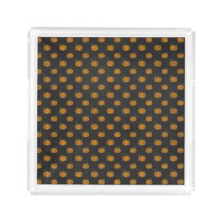 Erntedank-Herbst-Kürbis-Muster Acryl Tablett