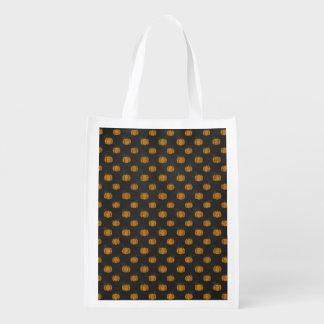 Erntedank-Herbst-Kürbis-Muster Wiederverwendbare Einkaufstasche
