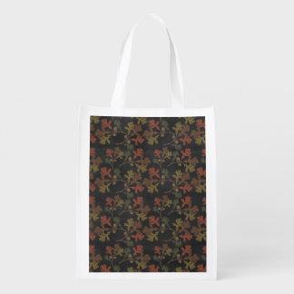 Erntedank-Herbst-Tafel-Muster Wiederverwendbare Einkaufstasche