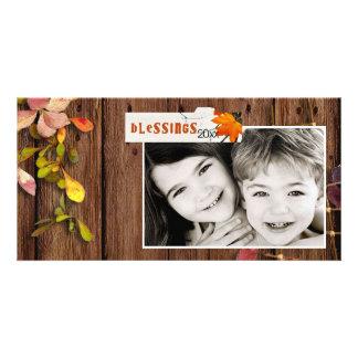 Erntedank Photcard Photokartenvorlage