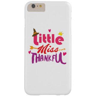 Erntedank-Tag scherzt kleines Fräulein Thankful Barely There iPhone 6 Plus Hülle