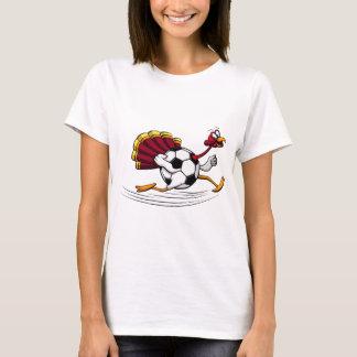 Erntedank-Türkeifußball-oder -fußball-Lauf T-Shirt