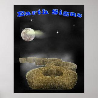 Erntekreisplakat Poster