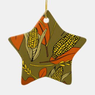 Erntezeit Keramik Ornament