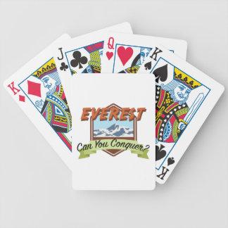Erobern Sie Everest Bicycle Spielkarten
