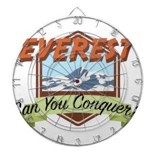 Erobern Sie Everest Dartscheibe