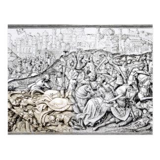 Eroberung von Jerusalem durch Karl der Große Postkarte