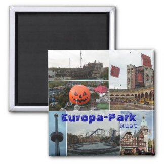 EropaPark, Europa-Park, Rost Quadratischer Magnet