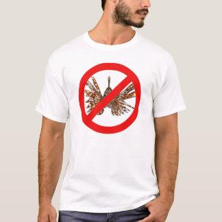 Erradicar EL pez león/rotten den Lionfish aus T-Shirt
