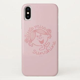 Erregbares kleines Fräulein Sunshine iPhone X Hülle