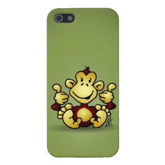 Erregter Affe iPhone 5 Cover
