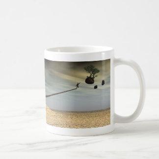 Erreichen Kaffeetasse