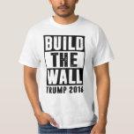 Errichten Sie die Wand - Trumpf 2016 T Shirts