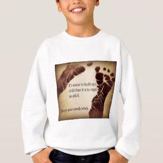 Errichten Sie ein Kind Sweatshirt
