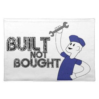 Errichtet nicht gekauft! tisch sets
