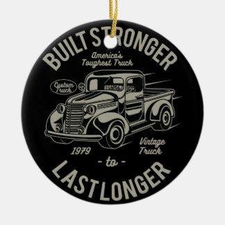 Errichtetes stärkeres zu letztem länger | USA Keramik Ornament
