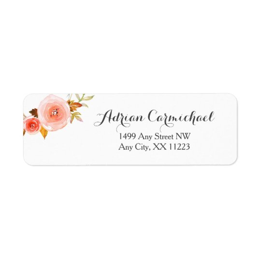 Erröten Aquarell wedding Blumen3605b