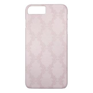 erröten rosa Damast iPhone 7 Plus Hülle
