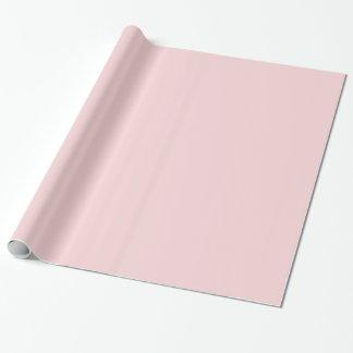 Erröten rosa Normallack Einpackpapier