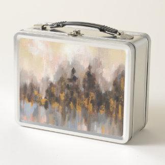 Errötender Wald I Metall Lunch Box