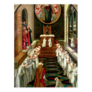 Erscheinung der Jungfrau zu einer Gemeinschaft Postkarte
