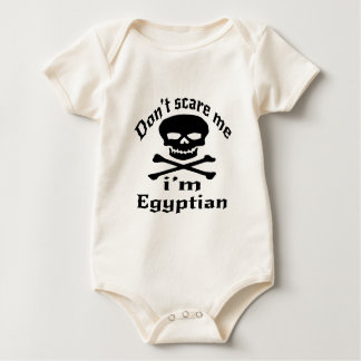 Erschrecken Sie mich nicht, den ich ägyptisch bin Baby Strampler
