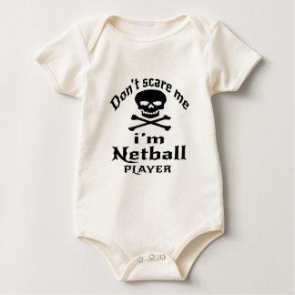 Erschrecken Sie mich nicht, den ich Baby Strampler