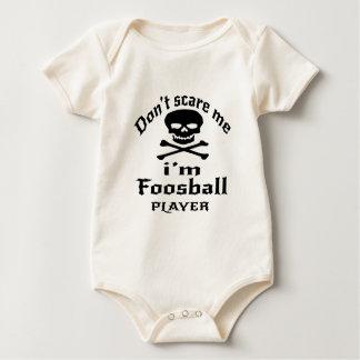Erschrecken Sie mich nicht, den ich Foosball Baby Strampler