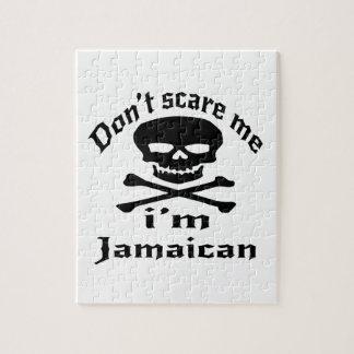 Erschrecken Sie mich nicht, den ich jamaikanisch Puzzle