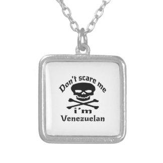Erschrecken Sie mich nicht, den ich venezolanisch Versilberte Kette