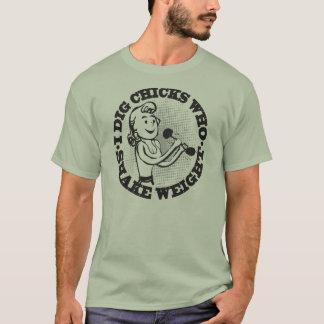 Erschütterungs-Gewichts-T - Shirt