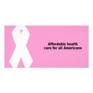 Erschwingliches Gesundheitswesen für alle Amerikan Photo Karten
