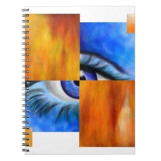 Ersebiossa V1 - verstecktes Auge außen hinter Notizblock