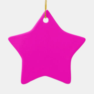 Erstaunlich lebhafte rosa Farbe P35 Keramik Ornament
