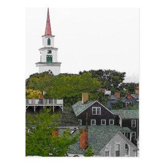 Erste Gemeindekirche - VINTAGER BLICK Postkarte