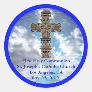 Erste heilige Kommunions-Aufkleber