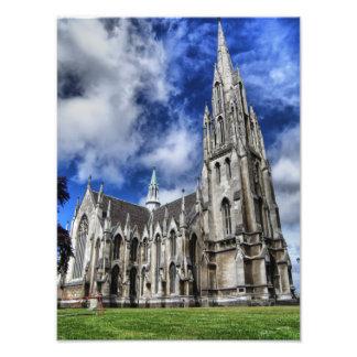 Erste Kirche HDR, Dunedin, Neuseeland Kunst Foto