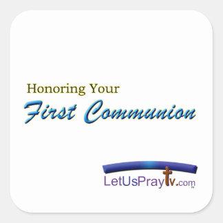 Erste Kommunions-Feier Stickers