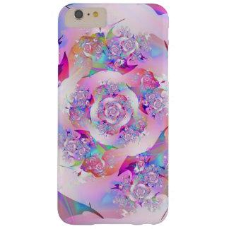 Erste Rosen-feine Fraktal-Kunst Barely There iPhone 6 Plus Hülle