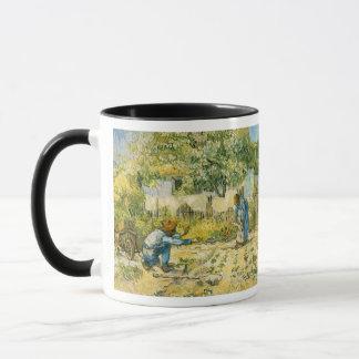 Erste Schritte durch Vincent van Gogh Tasse