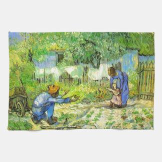Erste Schritte, Vincent van Gogh 1890. Küchentuch