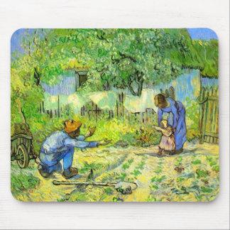 Erste Schritte, Vincent van Gogh 1890. Mousepad