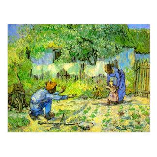 Erste Schritte, Vincent van Gogh 1890. Postkarte