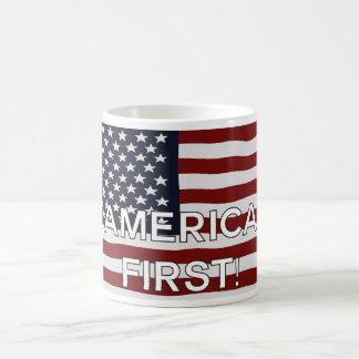 Erste US Flagge Amerikas Kaffeetasse