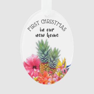 Erste Weihnachtshawaiische Ornament