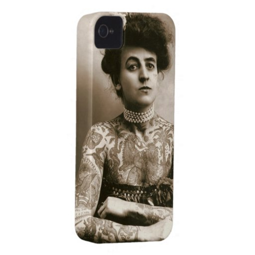 Erster Frauen-Tätowierungs-Künstler Case-Mate iPhone 4 Hülle
