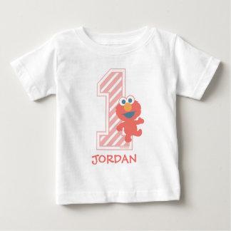 Erster Geburtstag des Sesame Street-| Elmo Baby T-shirt
