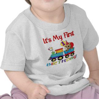 Erster Geburtstagszug des Babys Tshirt
