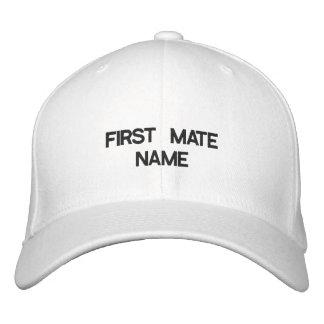 ERSTER KAMERAD-NAMENShut Bestickte Baseballkappe